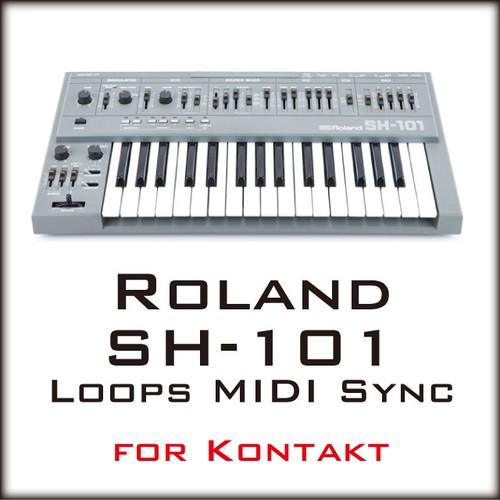 Roland SH-101 Loops MIDI Sync for Kontakt