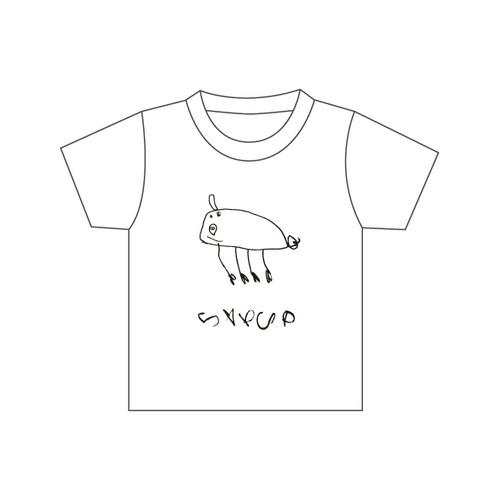 S∀PUP ベビーTシャツ -ぶた-