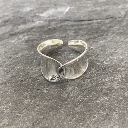 "Wave Ring ""silver 925"""