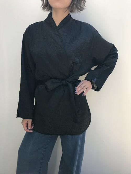 Vintage black quilting jacket