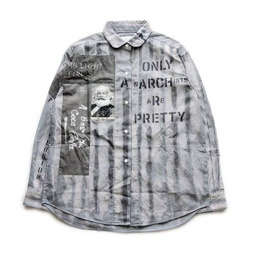 anarchy shirt 089(monochrome)