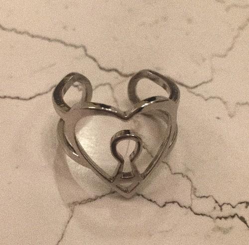 Key RING #1802  silver