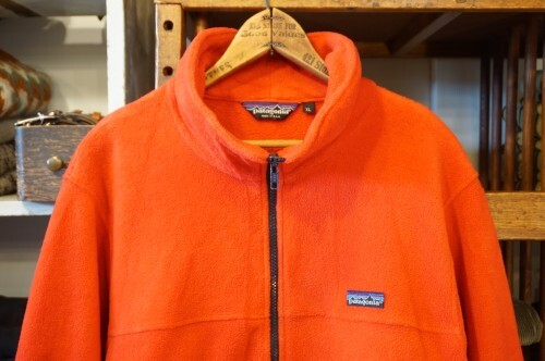"""early 90's Patagonia red zip-up Jacket """"Made in U.S.A."""""""