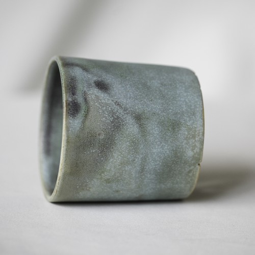 Cylinder Pot(青磁)