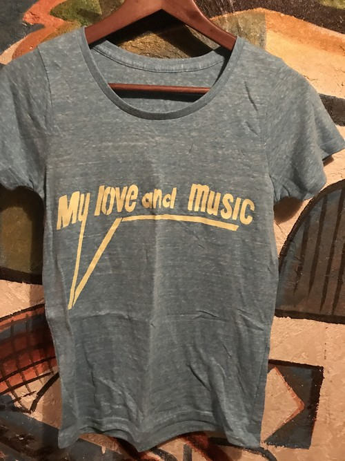My love and music Tシャツ レディースs