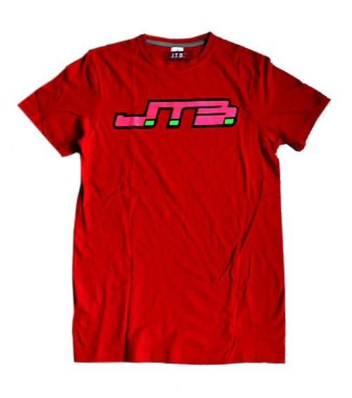 【JTB】JTB LOGO TシャツA【レッド】【再入荷】イタリアンウェア【送料無料】《M&W》