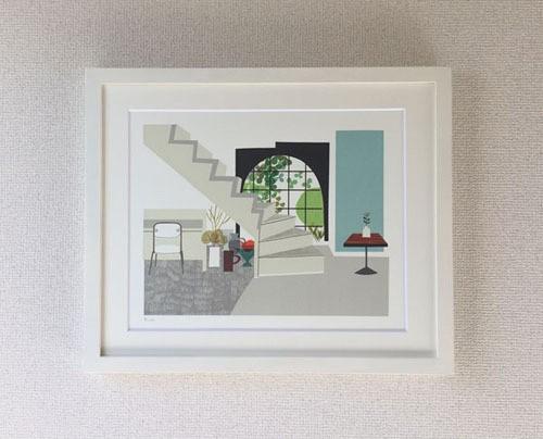 original print /セツの階段