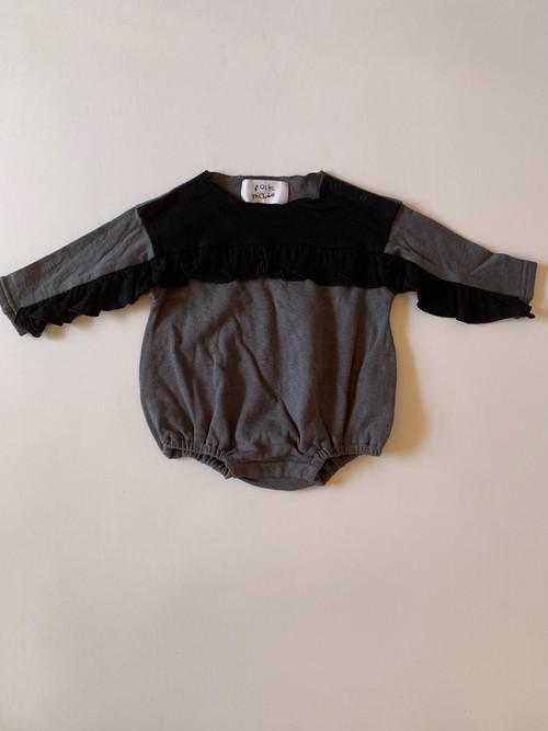 baby rompers 70cm black*asphalt graybaby