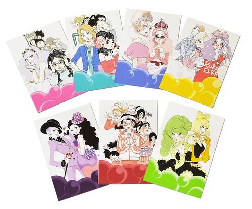 海月姫 ポストカード7種セット