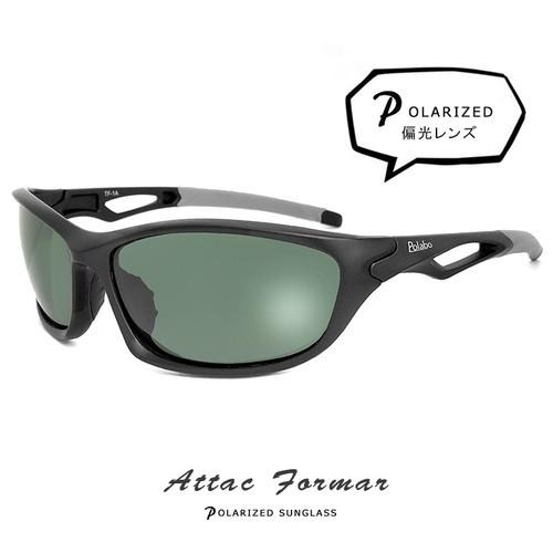 偏光サングラス 軽量 atf1a UVカット 偏光 サングラス polalized メンズ 男性用 ゴーグル型 [ 野球 自転車 釣り ランニング ゴルフ スポーツサングラス ]