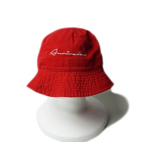 "ANRIVALED by UNRIVALED ""BUCKET HAT"" RED"