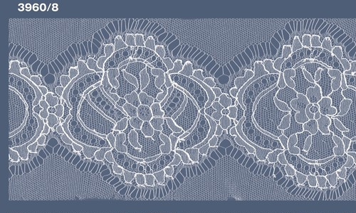 IV6-3960/8: 細巾 リバーレース