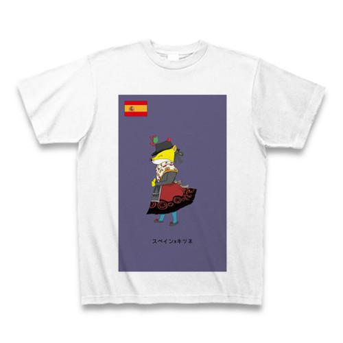 民族衣装Tシャツ スペインxキツネ