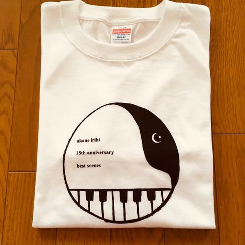 【GM(XS) ホワイト】15周年記念 best scenes Tシャツ