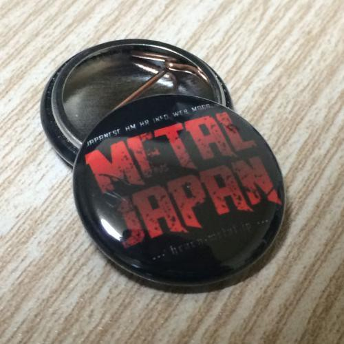 【METAL JAPAN オリジナル】缶バッジ 小 (25mm)