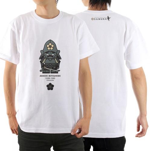 Tシャツ(明智光秀) カラー:ホワイト