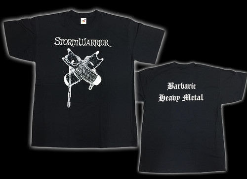 "STORMWARRIOR ""Heavy Metal Fire""正規品 Tシャツ"