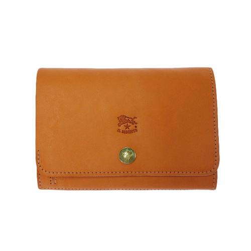 イルビゾンテ IL BISONTE 折財布 メンズ C0521-P-166 オレンジ