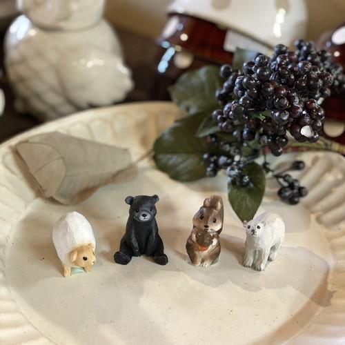 木彫り風アニマルシリーズ