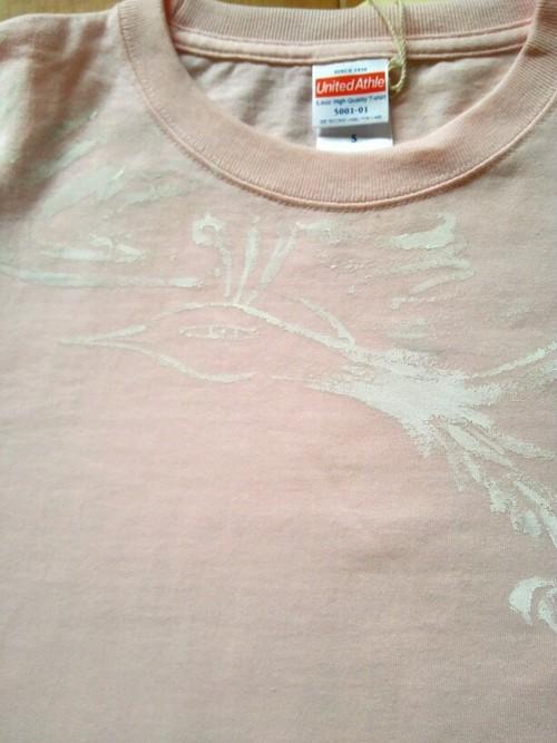 ピンク鳳凰Tシャツ【Sサイズ】