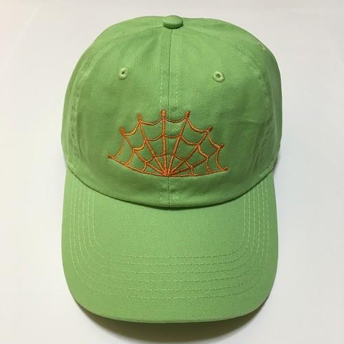 SPIDERWEB CAP (LIME GREEN)