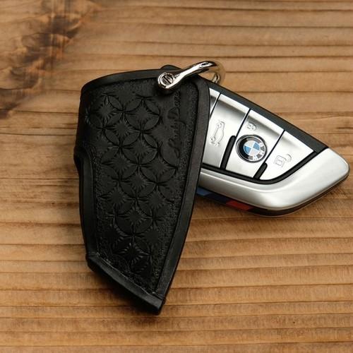 キースリーブ BMW5スライドオープン:スタンピング仕様:ブラック