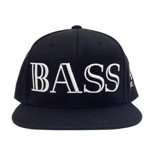 BASS 40Hz Snapback Cap Black 6Panel - iDonStore