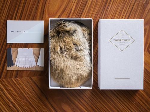 【fur_lapin】Shoes quilt(シューズファーキルト)