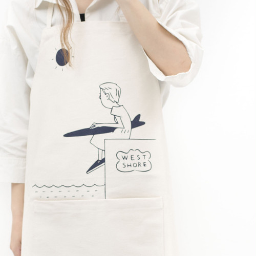 [ the HAMP works ] Apron A-12 - girl