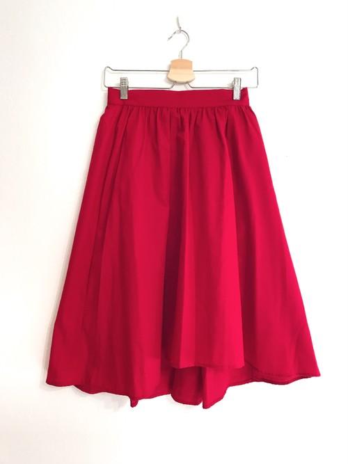 柔らか生地のフィッシュテールスカート