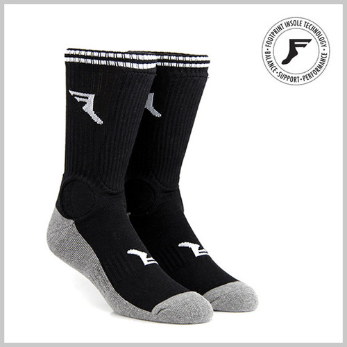 FP INSOLES PAINKILLER SOCKS BLACK/CHARCOAL