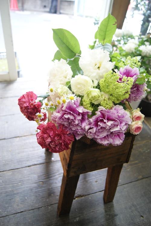 母の日*カーネーションの花束