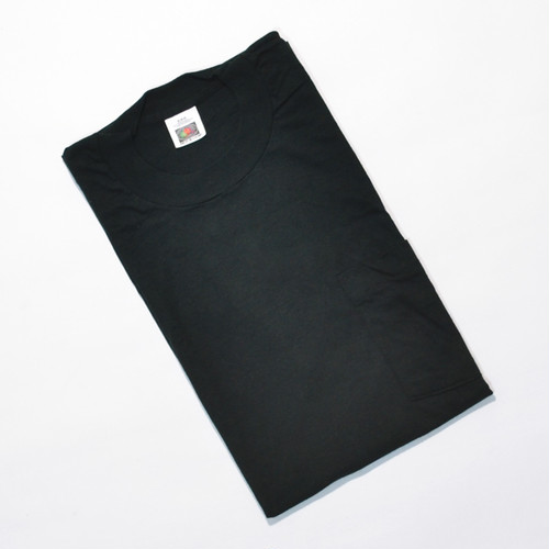 Deadstock★ 90's FRUIT OF THE LOOM ポケTEE(BLACK)M