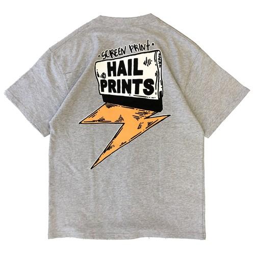 HAILPRINTS LOGO T-shirts (GRAY)