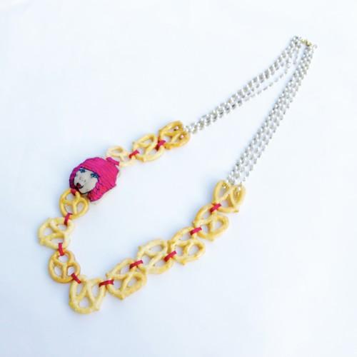 丸山あさみ × ROTARI PARKER  刺繍 ネックレス