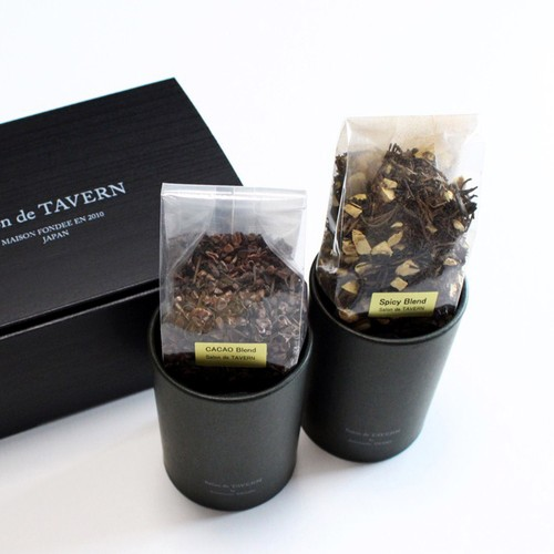 Salon de TAVERN TEA SET / Cacao + Spicy Brand