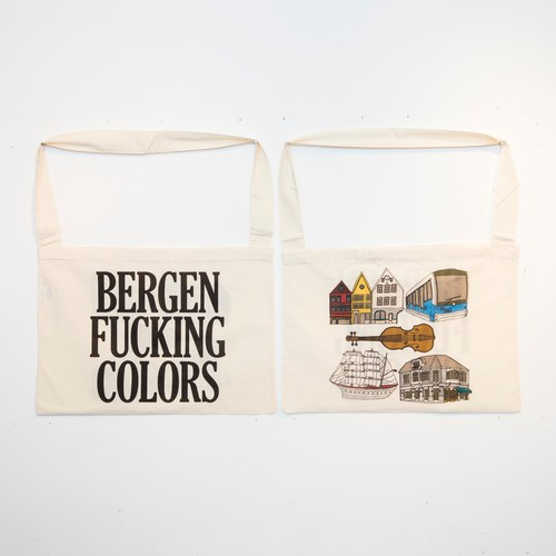 Anoraks | Life Is Journey Tote [BERGEN]