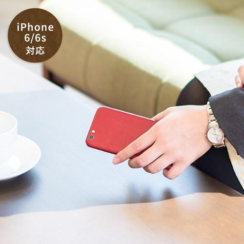 <iPhone 6/6s 用>coromo -red-