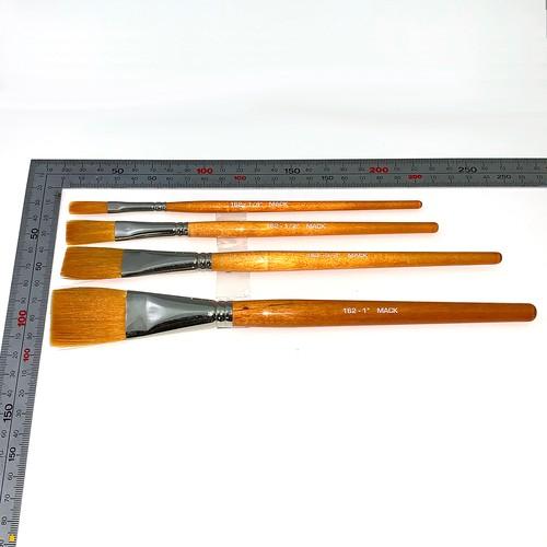 """MACK Brush 162 Lettering Flats 3/4"""""""