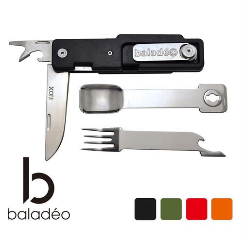 baladeo(バラデオ) Outdoor cutlery set ABS bd-010 アウトドア サバイバル キャンプ グッズ スプーン フォーク カトラリー