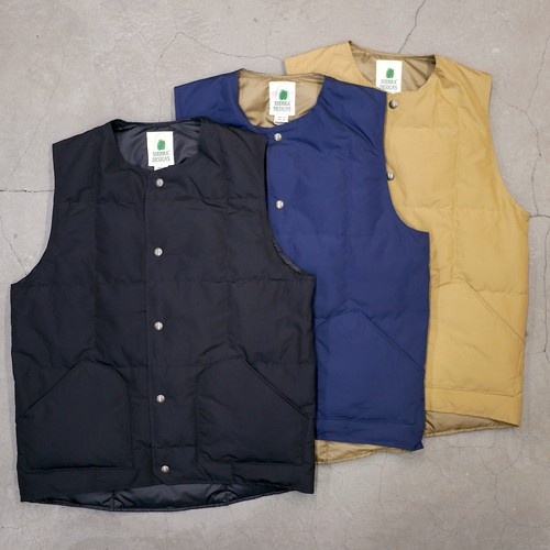 【30% OFF】SIERRA DESIGNS / CREW NECK DOWN VEST
