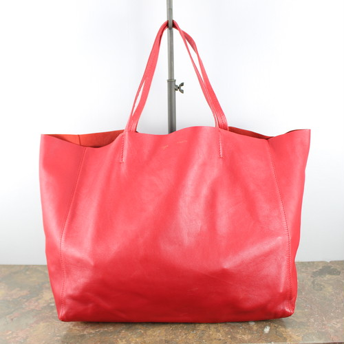 .CELINE LEATHER TOTE BAG MADE IN ITALY/セリーヌカバホリゾンタルレザートートバッグ 2000000043906