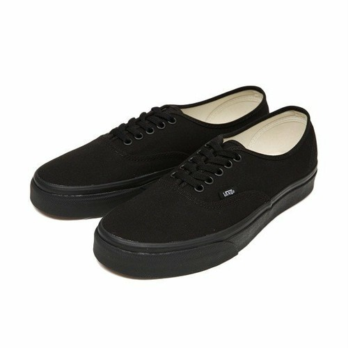 VANS / AUTHENTIC  -BLACK/BLACK-