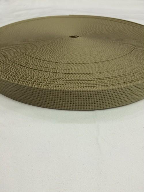 ナイロン  12本トジ  25mm幅  1.5mm厚  カラー  5m