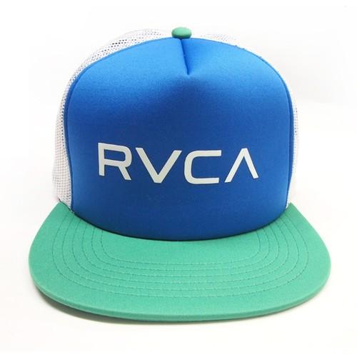 【RVCA(ルカ)】メンズ メッシュキャップ MEN'S HEADWEAR The RVCA Trucker II Hat トラッカー 2 ネイビー/グリーン 2015 超最新作 AF041904