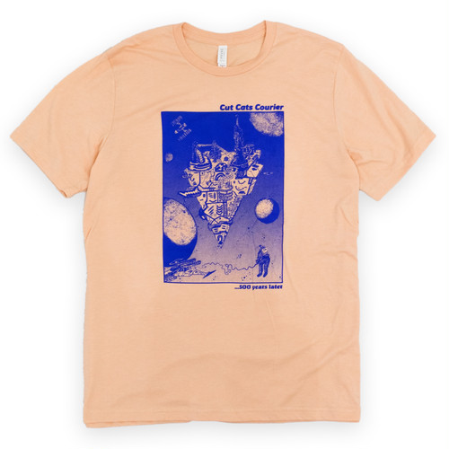 "CUT CATS COURIER ""Space base Tshirts (Tommy Gunn did this one!!)"
