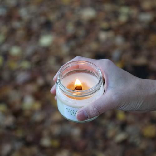 bzlemon虫よけビージーレモンの香り(M)soywax100%の木芯キャンドル【ソイワックスキャンドル ソイキャンドル アロマキャンドル】
