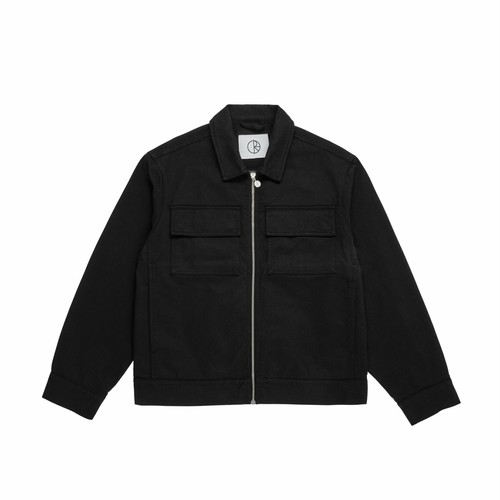 POLAR SKATE CO (ポーラー) / TWILL JACKET -BLACK-