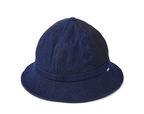FTC(エフティーシー) / MESH DENIM BELL HAT -INDIGO-