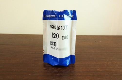 【120 カラーポジ】FUJIFILM(フジフィルム) PROVIA100F